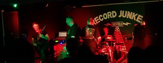 Harbinger at Record Junkee, Sheffield