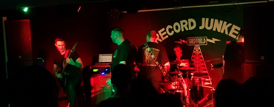 Harbinger/Godeater/Malign – Sheffield, Record Junkee – 15 October 2019