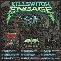 Killswitch Engage 2019 tour poster
