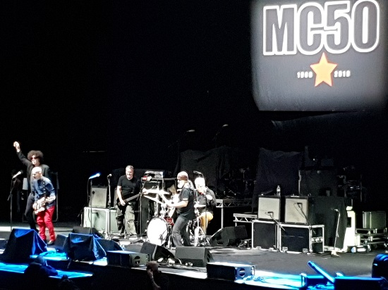 MC50 live at the Manchester Arena, 4 October 2019