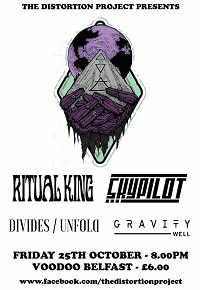 Poster for Ritual King in Belfast, 25 October 2019