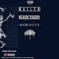 Poster for Bailer at Voodoo, Belfast, November 2019