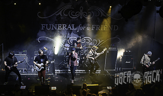 Funeral For A Friend at Y Plas, Cardiff, 28 October 2019