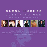 Artwork for Justified Man boxset by Glenn Hughes