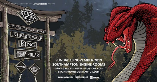 Impericon Never Say Die! Tour – Engine Rooms, Southampton – 10 November 2019