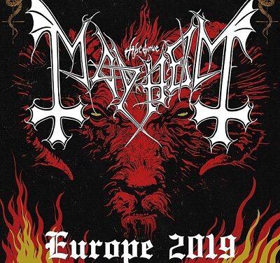 Mayhem/Gaahl's Wyrd/GosT – Dublin, Academy – 3 November 2019