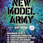New Model Army/Yur Mum – Cambridge, Junction – 15 November 2019