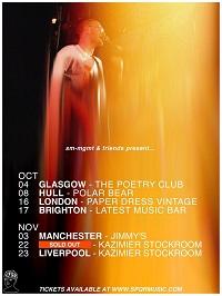 Poster for SPQR 2019 tour dates
