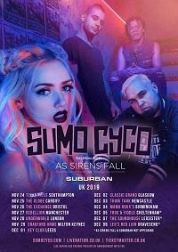 Sumo Cyco 2019 tour poster