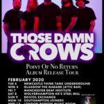 TOUR NEWS: Those Damn Crows confirm February dates