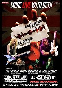 More Live with Deth (feat. David Ellefson and KK Downing)/Blaze Bayley – Wolverhampton, KK's Steel Mill – 3 November 2019