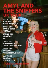 Amyl and The Sniffers 2019 tour poster