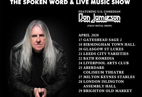 TOUR NEWS: Biff Byford announces first ever solo dates