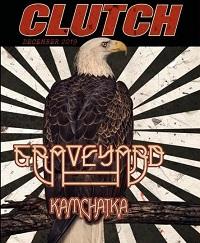 Clutch 2019 tour flyer