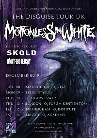 Motionless In White/Sköld/Defying Decay – Glasgow, SWG3 – 10 December 2019