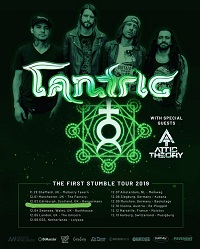 Poster for Tantric 2019 European tour