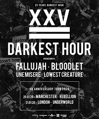 Poster for Darkest Hour 25th anniversary shows