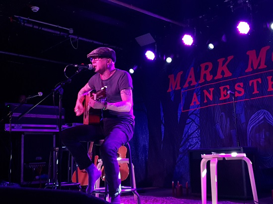 Dave McPherson at Manchester Academy 3, 9 January 2020