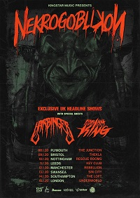 Nekrgoblikon January 2020 tour poster