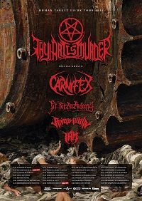 Thy Art Is Murder/Carnifex/Fit For An Autopsy/Rivers Of Nihil/I Am – Manchester, Academy 2 – 26 January 2020