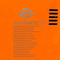 Automatic Europe 2020 tour poster