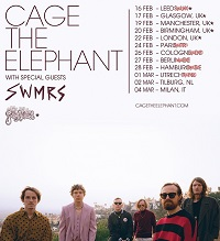 Cage The Elephant/SWMRS/Post Animal – Manchester, O2 Victoria Warehouse – 19 February 2020