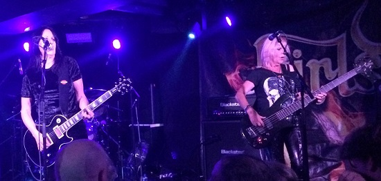 Girlschool live at Camden Underworld, January 2020