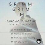 Grimm Grimm/Hyperdawn/crush – Manchester, Night & Day Café – 20 February 2020