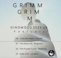 Grimm Grimm/Hyperdawn/crush – Manchester, Night & Day Café – 20 February 2020