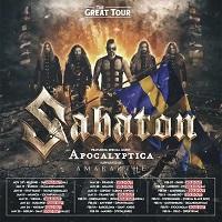 Sabaton - The Great Tour 2020 poster