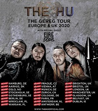 Poster for The HU 2020 tour
