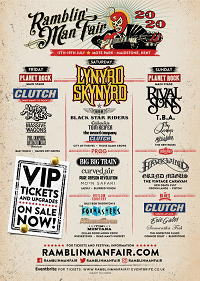 Updated Ramblin Man Fair poster