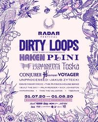 Updated RADAR Festival poster