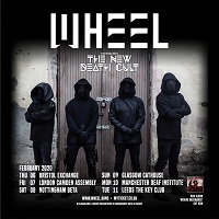 Poster for Wheel's February 2020 tour