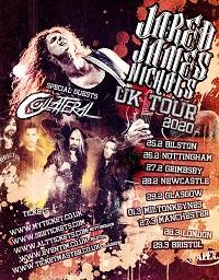 Poster for Jared James Nichols' 2020 UK tour