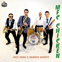 Artwork for Fast Food & Broken Hearts by MFC Chicken