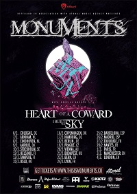 Monuments/Heart Of A Coward/I Built The Sky – Manchester, Rebellion – 3 March 2020