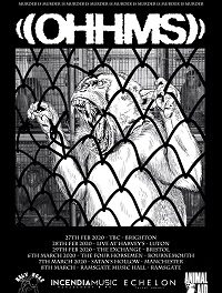OHHMS/Hundred Year Old Man/Agvirre – Manchester, Satan's Hollow – 7 March 2020