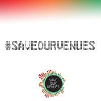 #saveourvenues campaign logo
