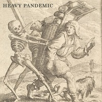 Artwork for heavy Pandemic compilation album
