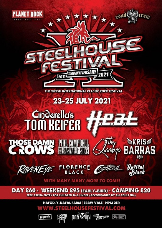 Poster for 2021 Steelhouse Festival
