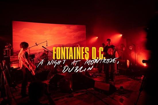 """GIG"" NEWS: Fontaines D.C. to stream album launch show"