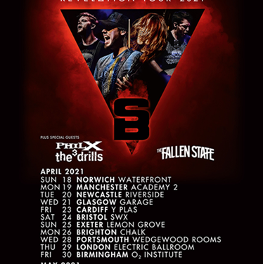 TOUR NEWS: Stone Broken reveal April dates