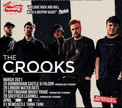 TOUR NEWS: The Crooks announce rescheduled 2021 dates