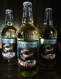 BURNT OWN WRECK LAUNCH OWN CIDER BRAND