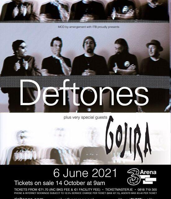 TOUR NEWS: Deftones announce one-off Dublin show