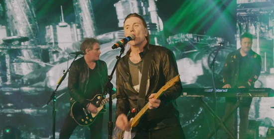 Goo Goo Dolls have held their first immerse livestream event