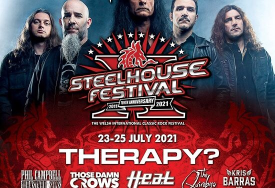 "FESTIVAL NEWS: ""STEELHOUSE GOES THRASH"" SHOCKER"