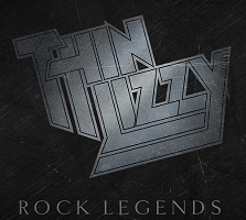 Artwork for the Rock Legends boxset from Thin Lizzy