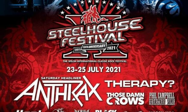 FESTIVAL NEWS: Anthrax pull out of Steelhouse headline slot